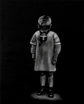 Paolo Naldi, Limbo, 2018, olio su misto lino, cm. 80x100