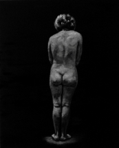 Paolo Naldi, Limbo, 2018, olio su lino, cm. 40x50