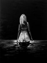 Paolo Naldi, Limbo, 2018, olio su misto lino, cm. 90x120