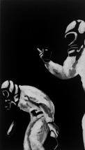 Paolo Naldi, Limbo, 2017, olio su tela, cm. 20x35