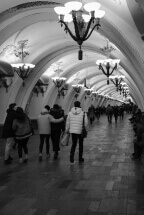 Moscow Metro by Vladimir Glebov Russia: fb/volglebov