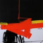 © Nguyen van Chung:  No.6 - Acrylic on canvas (40-50) - 2017