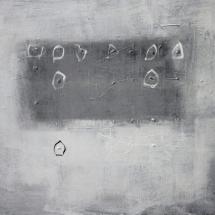© Nguyen van Chung: The wall 6 - Acrylic on canvas (60 x 80) - 2019