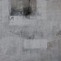 © Nguyen van Chung: The Wall 1 - Acrylic on canvas (50 x 70) - 2015