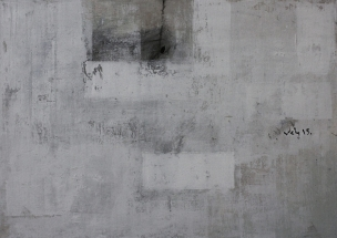 © Nguyen van Chung: The Wall 1 - Acrylic on canvas (50 x 70) - 2015