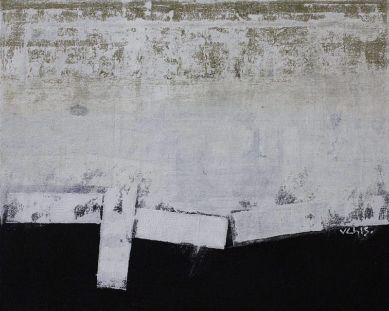 © Nguyen van Chung: The Wall 2 - Acrylic on canvas (40 x 50) - 2015