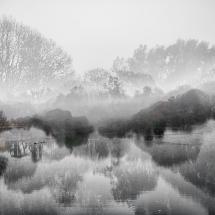 What is inside a landscape by Torsten