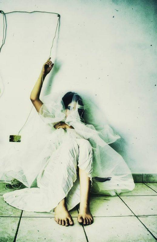 Poetry in the dark by Maria Serra