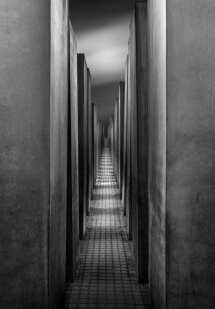 Berlin Holocaust Mahnmal by Domenico Masiello