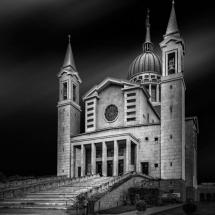 Castelnuovo Don Bosco Church by Domenico Masiello