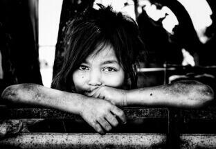 Children in Cambodia 1 by Dino Morri: fb/samuele.esteban.7