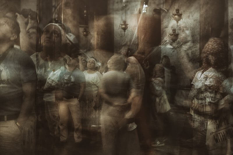 Collective memory 2 by Fadwa Rouhana