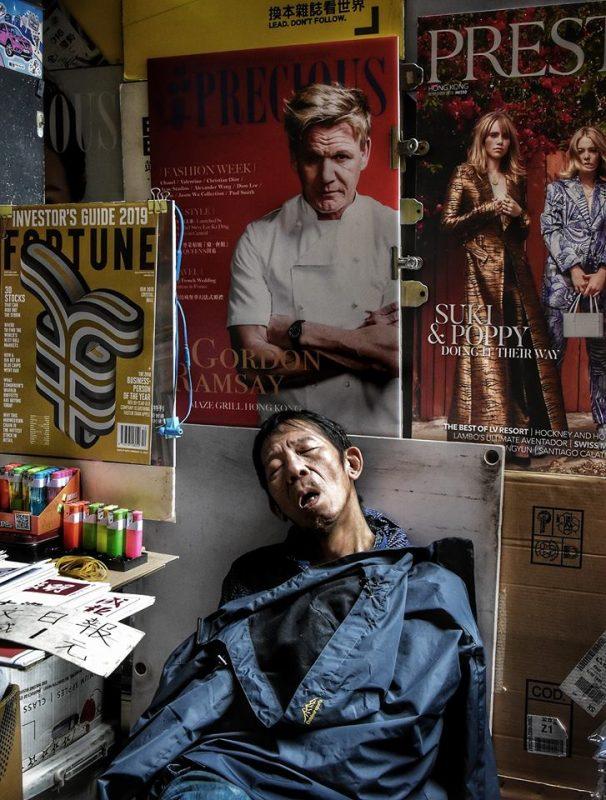 Inside people Hongkong by Dino Morri