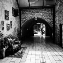 Jaffa art passage by Ruth Penn: fb/shmuel.penn