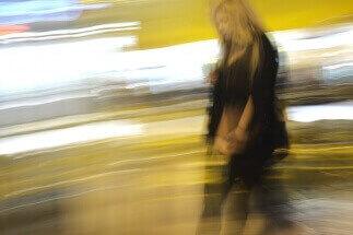 Lady in yellow by Moshe Brami: fb/moshe.brami.9