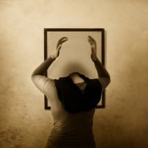 Mirror on The Wall Who inside yours by Rezki Sterneanto