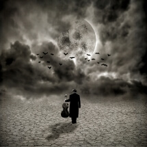 Moonlight shadow by Gus