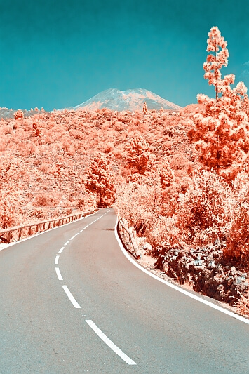 On the way to Teide by Stefan Zimmermann