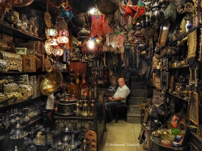 Oriental shop located in old city Damascus by Mahmoud Nouelati: fb/mahmoud.nouelati1