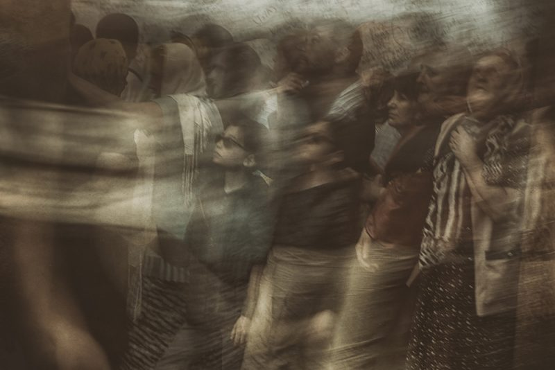 Passengers in time 2 by Fadwa Rouhana