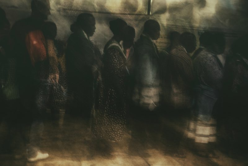 Passengers in time 5 by Fadwa Rouhana