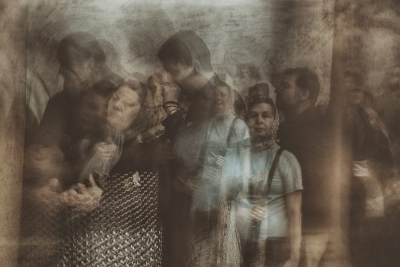 Passengers in time 8 by Fadwa Rouhana