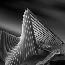 Reggio Emila Calatrava Station by Domenico Masiello