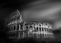 Rome Colosseum by Domenico Masiello