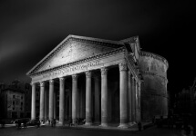 Rome Pantheon by Domenico Masiello