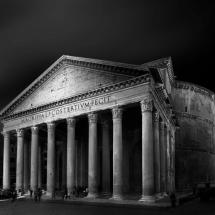 Rome Pantheon by Domenico Masiello