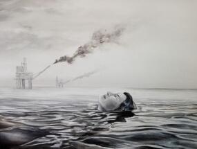 Smoke on the water by Hadrien de Corneillan
