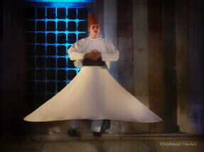 Sufi whirling Damascus by Mahmoud Nouelati: fb/mahmoud.nouelati1
