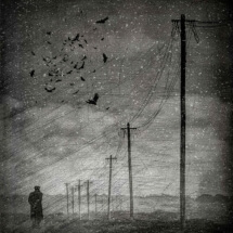 The flight of the crows by Gus