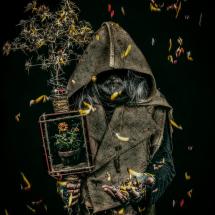 The keeper of the last flower by Hajime Art
