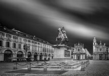 Turin Place San Carlo by Domenico Masiello
