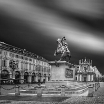 Turin Place San Carlo by Domenico Masiello