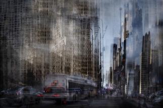 City Canyon by Olga Merrill