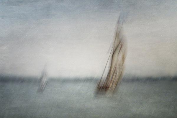Chasing the leader by Olga Merrill