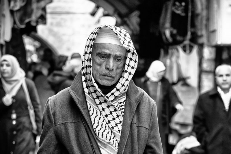 All the people: Face of Jerusalem 2 by Fadwa Rouhana