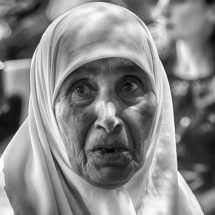 All the people: Faces of Jerusalem 5 by Fadwa Rouhana