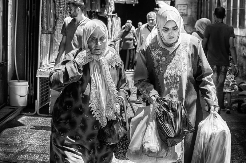 All the people: Faces of Jerusalm 2 by Fadwa Rouhana