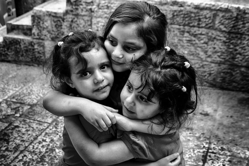 All the people: Girls by Fadwa Rouhana