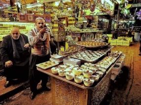 Traditional Damascene sweets Mahmoud Nouelati: fb/mahmoud.nouelati1