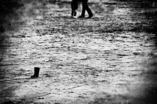 les pieds sur sable...