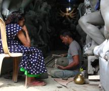 A Peep into the Artisan's Workshop by Sarmistha Rakshit