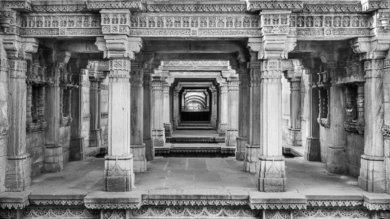 Maximilian Bertram: Stepwell Ahmedabad Gujarat