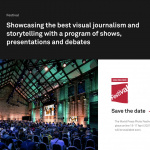 World Press Online Photo Festival 2021:  A three day program of shows, presentations and dialogue