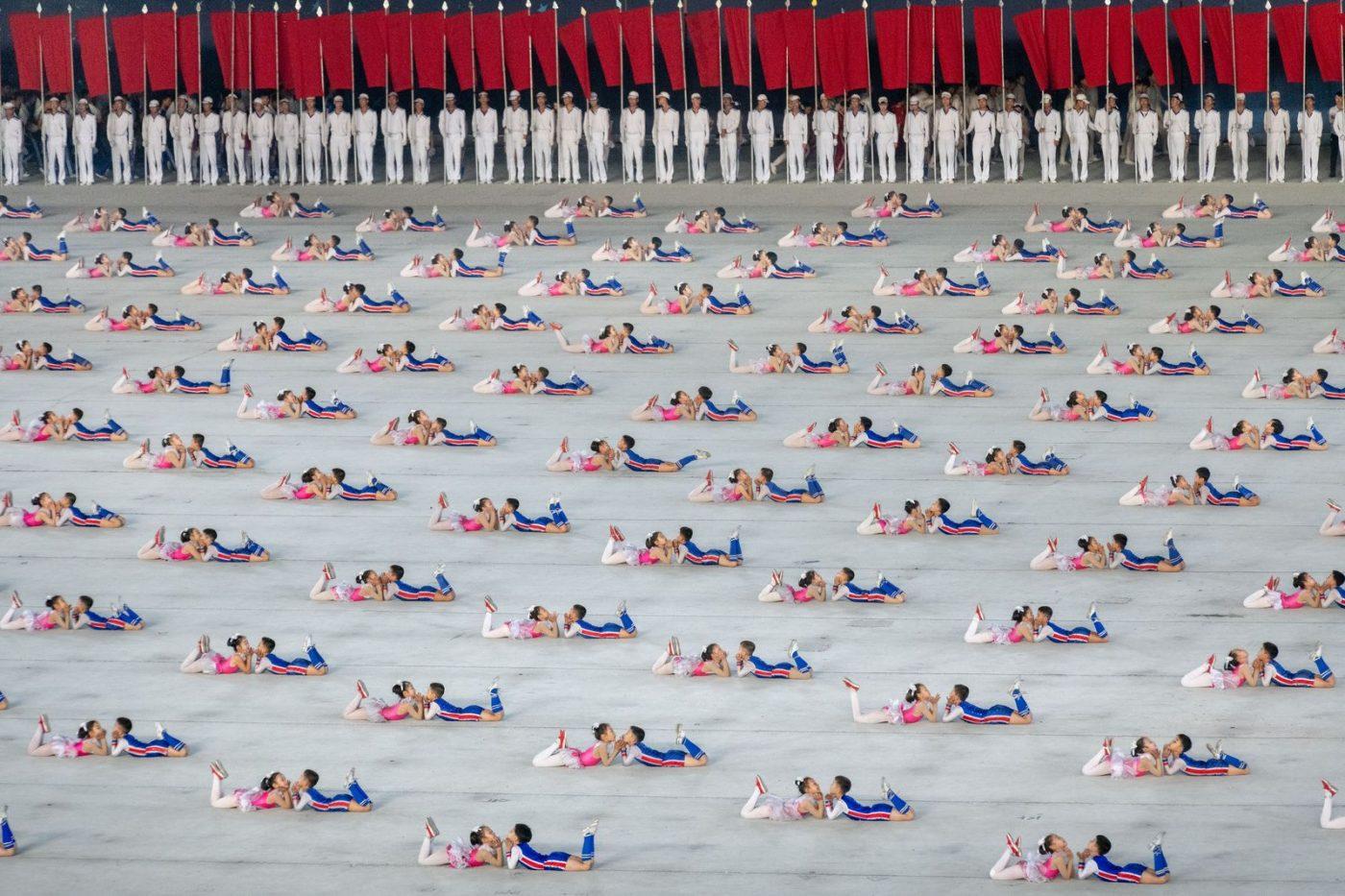 CREATIVE: GYMNASTS by TED LAU (HONG KONG SAR CHINA) HONORABLE MENTION