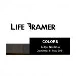 Life Framer: Colors. Deadline: 31. May 2021
