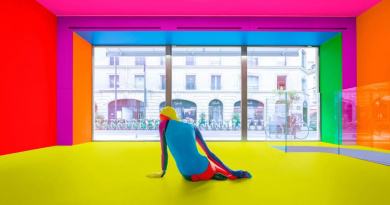 A family of nudes by Ugo Rondinone  – A RAINBOW.A NUDE.BRIGHT LIGHT.SUMMER